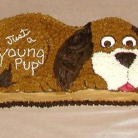 Puppy Dog Cake - Just A Young Pup