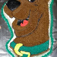 Scooby Cake Can't go wrong with Scooby-Doo, right?