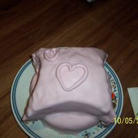 Mother's Day Cake This is my first try with MMF. I used my aunt's Vanilla cake and vanilla butter cream recipe. It was 2am when I finished that cake. I...