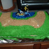 Dirt Bike This cake I made for my DH. He went to a guys day out riding 4 wheelers and dirt bikes. He is suppose to bring a dessert, so he asked me to...