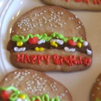 Hamburger Cookies