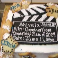 Graduation Movie Star Cake
