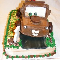 "Mater My grandson Levi wanted a ""mater"" cake"