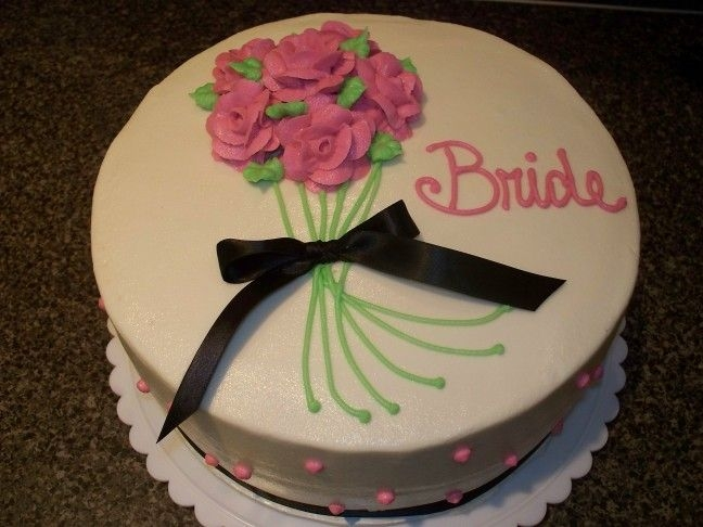 Bouquet Decorated in buttercream