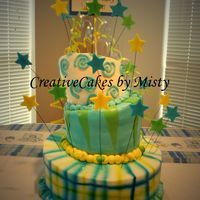 Whimsical Baby Shower  I did this for a baby shower to match the paper goods. It came out perfectly and the mom to be and the lady giving the shower were both...