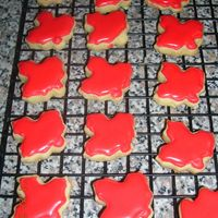 Red Leaf Cookies NFSC w/ RI