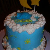 "Baby Boy Shower This is now my favorite cake I have done. It was done for a friend at church. It is a 6"" vanilla w/ buttercream dream icing. This was..."
