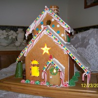 Gingerbread House From Wilton Celebrate Ii Book This is a house pattern that I downloaded from the Wilton web site. They had the pattern there but no picture. I want to give a special...