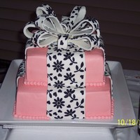 Textured Bow This was my sisters wedding cake. taken from Wilton's but changed color