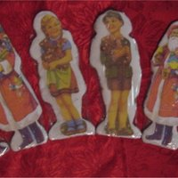 German Style Cookies Traditional German cookies with vintage paper images. Thanks to CC members I now have a very nice collection of the images that I can print...