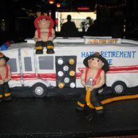 Ames Fire Department This is a cake that I made for a LT who was retiring after 24 years at our local firedepartment. This is the first time that I had modeled...