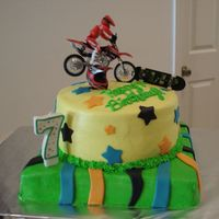 X Games Birthday Cake
