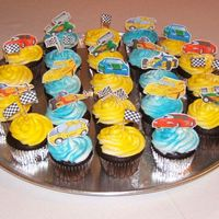 Cub Scout Pinewood Derby Cupcakes