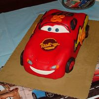 Lightning Mcqueen  This was for my son's 5th birthday. My time was so limited when doing this, that I had to leave out some of the details. He...