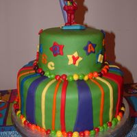 Elmo Birthday Cake This was for my son's 2nd birthday, who loves Sesame Street and Elmo. I got the idea for the Skittles around the border from another...