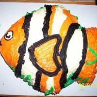 Nemo Cake This was made for my daughter 2nd birthday. It is buttercream icing