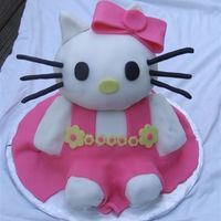 Hello Kitty My attempt at the cake Kitagirl perfected. I used wondermold & ball pan. Thanks for looking.