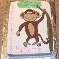 Monkey Thanks Michele25, jwong9664 & TheCakerator. I used all your monkey cakes for inspiration. The monkey is FBCT. Thanks for looking.