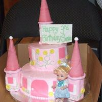 Castle Cake This is my attempt at a castle cake that I made for a 3yr old's birthday. Thank you so much delaware and cambo, your cakes were my...
