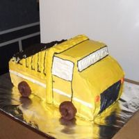 Dump Truck I made this for my friend's son who is turning 5 tomorrow. I couldn't hhave done it without a ton of help from icantcook - thank...