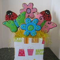 Spring Bouquet Spring Cookie Bouquet. NFSC and Royal