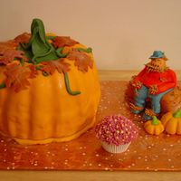 Pumpkin And Scarecrow So I totally bit off of many on the site and thank you to all who inspired.