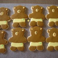 Baby Bear Cookies I made these for a baby shower; NFSC and Antonia's icing.Thanks!