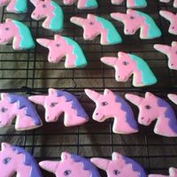 Unicorn I used Penny's sugar cookie recipe for the first time, I really liked it!