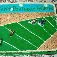 Football I made this cake in my first year of decorating. It is all BC and the design is from the Wilton site