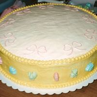 Baby Shower (Yellow) All BC with candy molds on side. top layer is another picture as it was assembled on sight