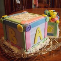 Baby Blocks I made these for the shower my mother threw for me/baby. I have had to cancel all of my cakes 'for hire' this summer due to...