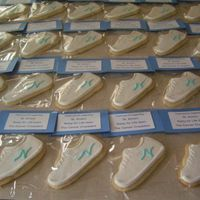 Relay For Life Cookies These were sold at our church's Relay for Life booth. Butter cookies with MMF and RI details. Thanks to Antonia74 for the decorating...