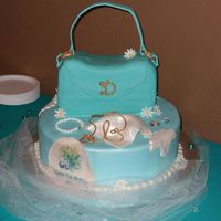 Mas_Cake.jpg I made this cake for my Mother's 75th Birthday. It is my first purse cake. I learned some things for next time but all in all I am...