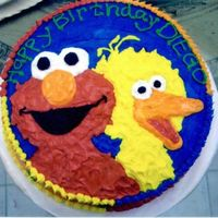 Sesame Street Elmo and BigBird