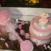 Baby Rattle Cake