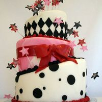 Topsy Turvy Cake This 3-tier Topsy Turvy white cake with Oreos and cream filling was created for a party celebrating my grandmothers 90th birthday (Nana),...