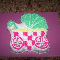 Baby In The Carriage I made this for a friends baby shower