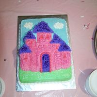 Castle Cake princess castle cake for my baby shower