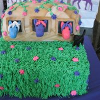 Horse And Stable Cake   Debbie Brown, wyatt, zoeped84 inspired. Made for my daughter's 3rd bday. Kids loved it.