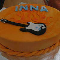Inna's Flaming Guiter