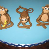 Silly Monkeys Fondant/Gumpaste Mix Monkeys