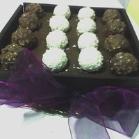 Box Of Chocolates I used dark chocolate bars for the sides of the box. Very quick and easy!