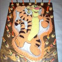 Tigger This was for another friend of mine. Nothing special about the cake, just posting all my pics.