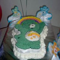 Wish Bear This was for a friend's son's birthday party. He absolutely loves care bears and Wish bear is his favorite!!