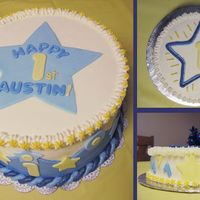 Austin Turns 1 I had a complete design drawn out and hauled all my stuff out to MD to construct it. Got there and found out that the decorations that I...