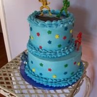 Power Ranger Cake Power Ranger Cake for a little boy's birthday.
