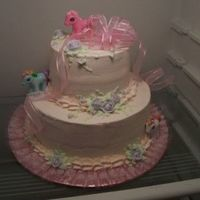 My Little Pony My Little Pony cake for my friend's little girl. I got the idea from the Freeds Bakery website.