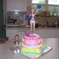 Barbie Birthday Cake Barbie birthday cake