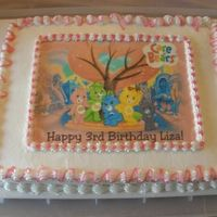 Care Bears Edible image .