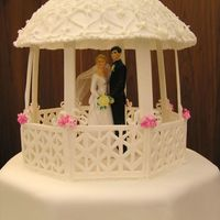 Close Up Of Robert & Natarsha Wedding Cake Just another view of this cake